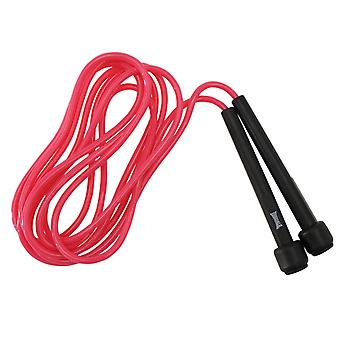 Lonsdale Club Skipping Rope Boxing Training 9 ft Soft Nylon Plastic Handles