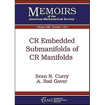 CR المدمجة Submanifolds من CR Manifolds بواسطة شون ن. كاري -- 978147043