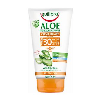 Aloe Sun Cream Spf 30 150 ml of cream