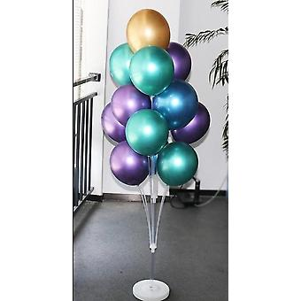 Birthday Party Balloons Stand Holder Column Confetti Decorations Kids Adult