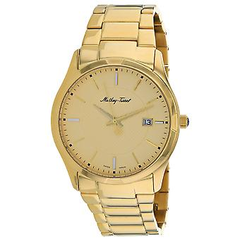 Mathey Tissot Men's Classic Gold Dial Watch - H2111PDI