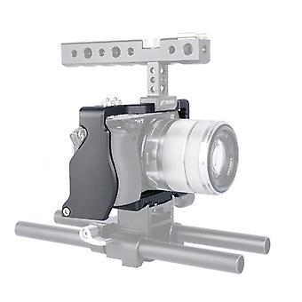 YELANGU C6 kamera video häkin stabilointiaine Sony A6000 / A6300 / A6500 / A6400 (musta)