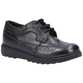 Hush Puppies Girls Felicity Leather School Shoes