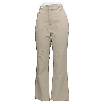 Lee Men's Calças Conforto Cintura Elástica Cintura Reta Bege 1