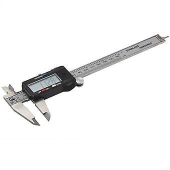 Steel Vernier Caliper Electronic Digital Lcd - 150mm 6 Inch In Hard Case