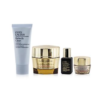 Firm+glow Collection: Revitalizing Supreme+ Creme+ Anr Multi Recovery+ Revitalizing Supreme+ Eye+ Perfectly Clean - 4pcs