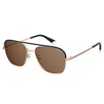 Polaroid PLD2108/S/X DDB/SP Gold Copper/Bronze Gepolariseerde zonnebril