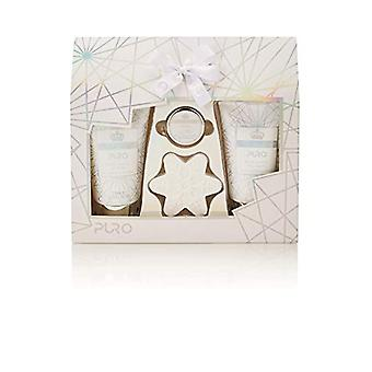 Style & Grace Puro Gift Of The Glow Gift Set 4 Pieces (1 x 10ml Lip Balm 1 x 50g Bath Fizzer 1 x 110ml Body Lotion 1 x 110ml Body Wash)