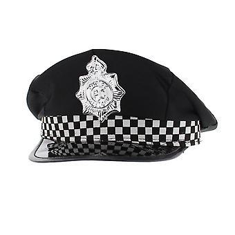 Hat policeman adult beanie hat/hat) 1 multicoloured