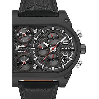 Mens Watch Police PL15379JSB.02, Quartz, 50mm, 5ATM
