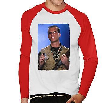 Weird Science Chet Donnelly Rökning Cigar Men's Baseball Långärmad T-shirt
