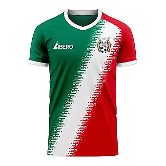 Mexico 2020-2021 Fourth Concept Football Kit (Libero)