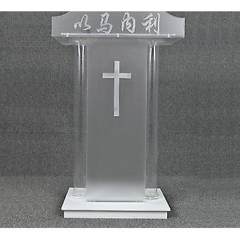Podium Acrylic Lectern Pulpit Event Jesus  Church And Wedding Prayer