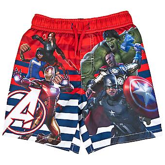 Marvel Avengers Gamerverse Symbol und Team Youth Badehose