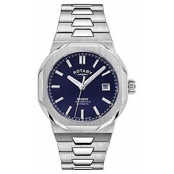 Roterande | Regent | Automatisk | Blå | Rostfritt stål armband GB05410/05 Klocka