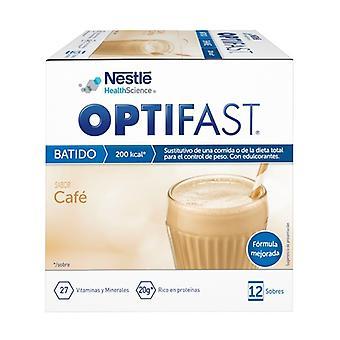 Optifast Decaffeinated Coffee Shake 12 packets (Coffee)
