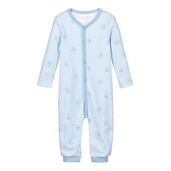 Guess baby boys blue babygro h1rw03ka6w0 sv74