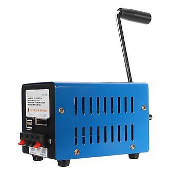 High Power Dynamo Ladegerät tragbare Notfall Hand Power Hand Kurbel USB Aufladen Notfall Überleben Hand Kurbel Generator
