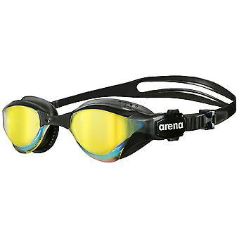 Arena Cobra Tri Mirror Swim Goggle - Mirrored Lens - Black/Black