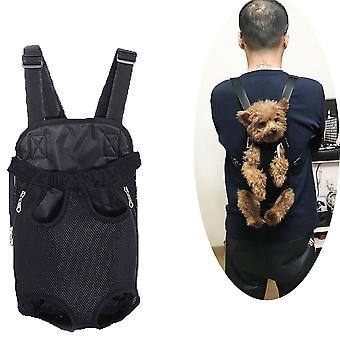 Pet Carry Adjustable, Dog Backpack, Kangaroo Breathable Front Puppy Carrier Bag