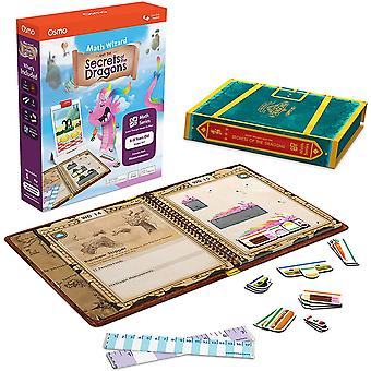 OSMO 902-00024 Math Wizard Secrets of The Dragons for iPad & Fire Tablet-Ages 6-8-Measurement