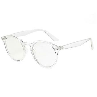 Designer Trendy Anti Blue Light Reading Occhiali Trasparente Lens