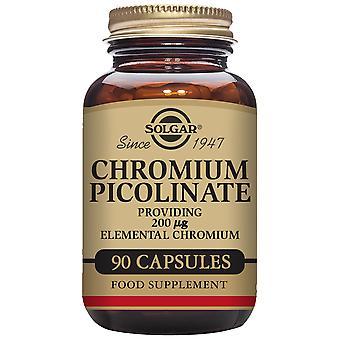 Solgar Pikolinian chromu 200 mg 90 kapsułek