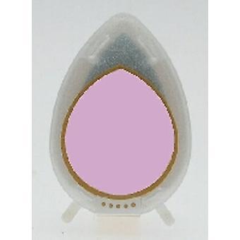 Almohadilla de tinta brillante caída de rocío - almohadilla de tinta de orquídea perla
