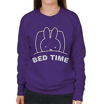 Miffy Bed Time Women's Sweatshirt