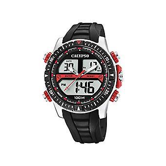 Calypso Watches Analog-Digital Watch Quartz Man with Plastic Strap K5773/3