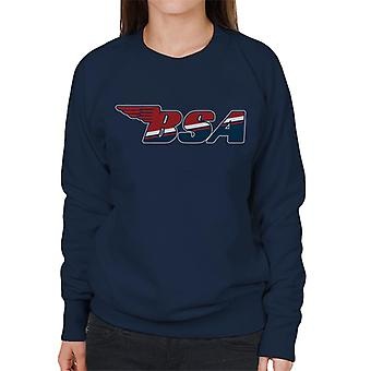 BSA Union Jack Logo Women's Sweatshirt