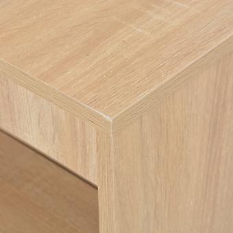 vidaXL baaripöytä hyllytammenruskealla 110 x 50 x 103 cm