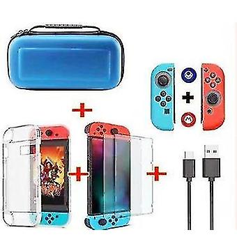 Blue protective hard case for nintendo switchsunvalley-us portable x2933