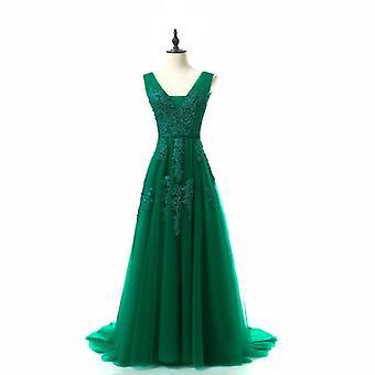 Elegante lange Brautjungfer Kleider