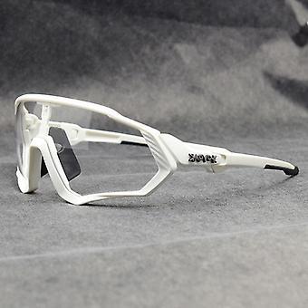 Okulary rowerowe Fotochromatyczne 1lens Okulary przeciwsłoneczne