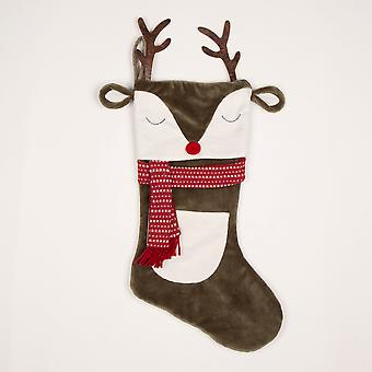 Sass & Belle Reindeer med Hornens julstrumpa