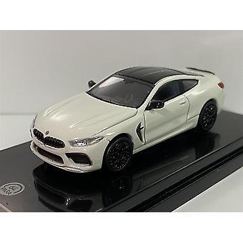 BMW M8 Coupe LHD White 1:64 Scale Paragon 55214L