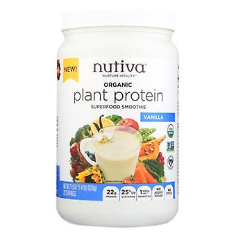 Nutiva Organic Plant Protein, Vanilla 21.9 Oz