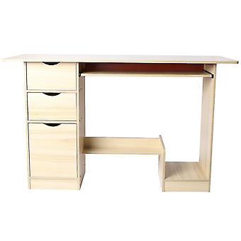 Computer Desk Simple Modern Style Writing Desk Monitoiminen kannettava pöytä kotiin ja toimistoon