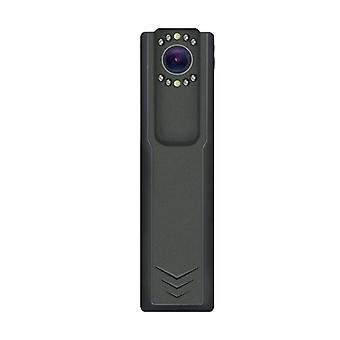 ミニビデオレコーダーカメラ、ナイトビジョン機能付きポータブル警察カメラ、家族全員を保護 -32GB(ブラック)