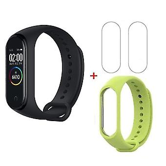 Ceas cu brățară impermeabilă - Tracker de fitness cu plată NFC Russian Master Card (CN NFC și Verde)