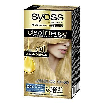 Permanent Dye Olio Intense Syoss Nº 10,00 Bright Blonde