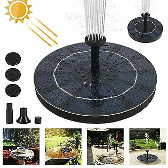 1.4w Solar Powered Floating Pump Water Fountain Home Garden Dcor