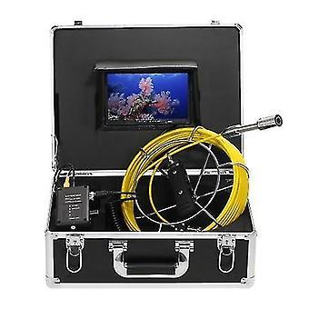 مكتشفي الأسماك 20m استنزاف أنابيب الصرف الصحي التفتيش كاميرا فيديو 8gb sdcard وشملت