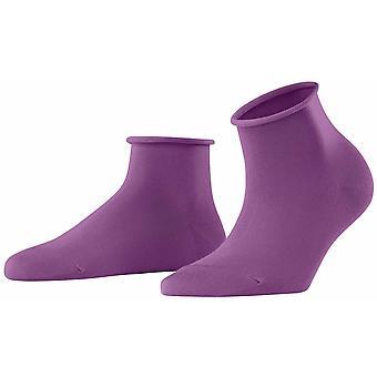 Calcetines cortos Falke Cotton Touch - Galaxy Purple