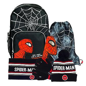 Marvel Comics Spiderman Back To School Boys Rugzak Set | Officiële Merchandise