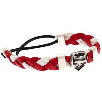 Arsenal FC PU Slider Pulsera Producto Con Licencia Oficial
