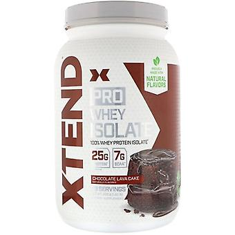 Xtend Pro Whey Isolate, Chocolate Lava Cake - 826 grams