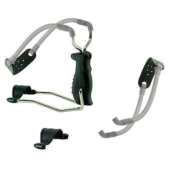 Barnett Black Widow - slingshot catapult with spare elastic and wrist pad