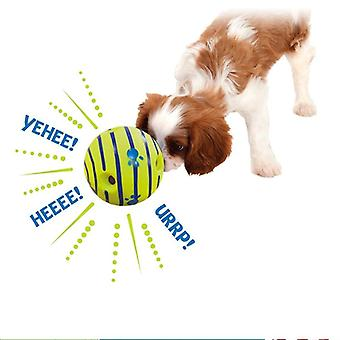 Vocal Ball Sounds Ball Training For Small Large Dogs Silicon Jumping Interactive  Strong Rubber Toy